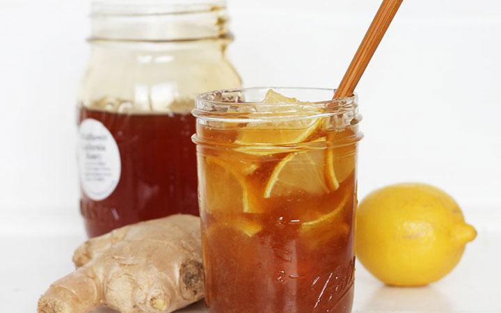 Приготовление имбиря с медом