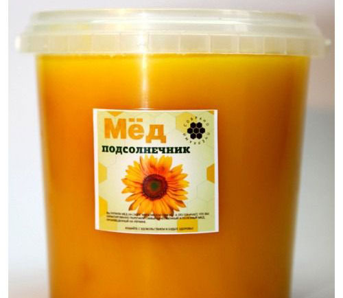 Продукт пчеловодства из нектара подсолнечника