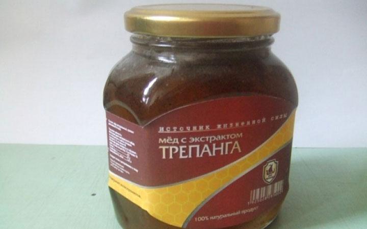 Готовый раствор трепанга с медом