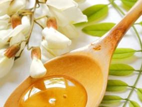 Мед с цветков акации