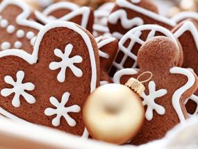 Медовое печенье к новогодним праздникам