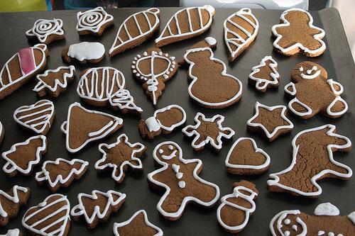 Имбирное печенье на праздник
