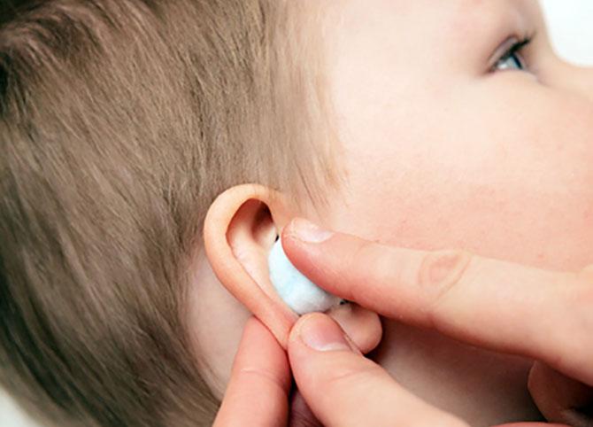 Компрессы в ухо