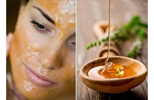 Мед при массаже лица