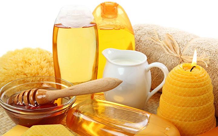 Мед с молоком для обертываний