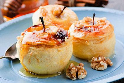 Яблоки запеченные с медом