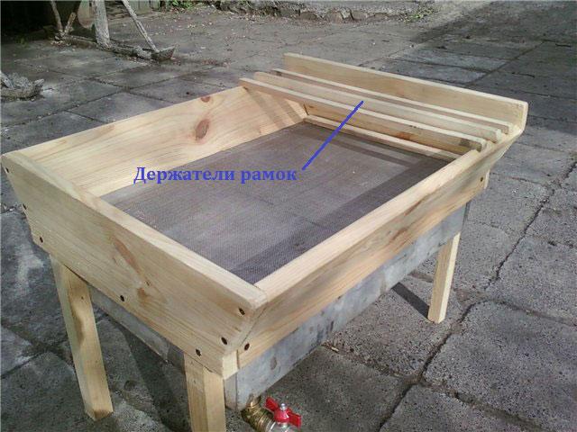 Стол для рамок деревянный