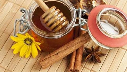 Целебная корица и продукт пчеловодства