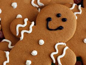 Имбирное медовое печенье