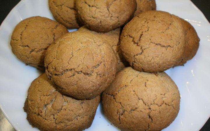 Печенье медово-овсяное