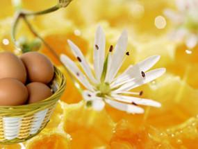 Яйцо и мед для волос