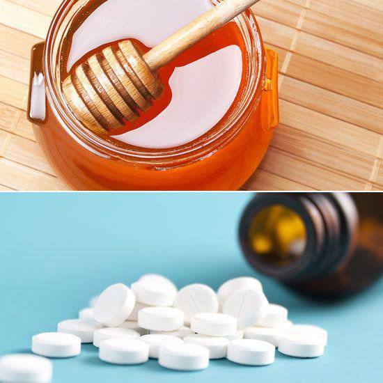 Сочетания аспирина и меда