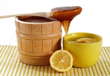 Мед, корица и лимон